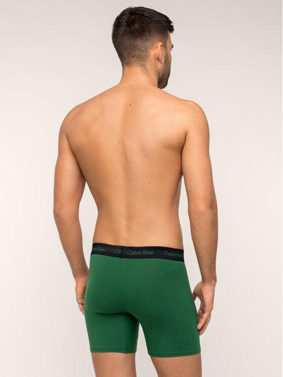 Calvin Klein Underwear Calvin Klein Underwear Σετ 3 ζευγάρια μποξεράκια 000NB1770A Έγχρωμο