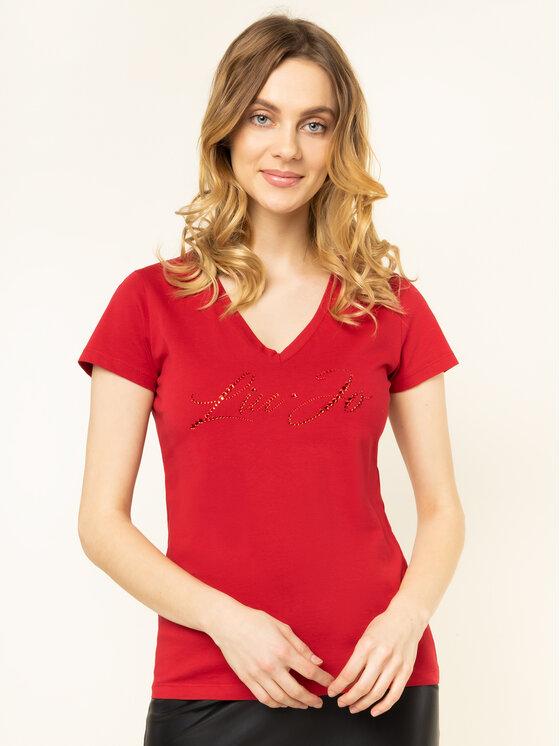 Liu Jo Liu Jo T-Shirt WA0324 J5703 Czerwony Regular Fit