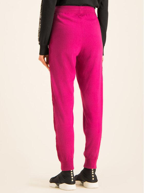 TwinSet TwinSet Pantaloni di tessuto 192TP3173 Rosa Regular Fit