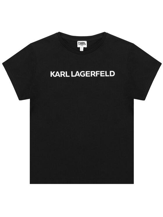 KARL LAGERFELD KARL LAGERFELD T-shirt Z15222 D Nero Regular Fit