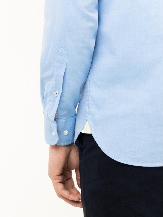 Tommy Hilfiger Tommy Hilfiger Marškiniai Hyper Classic Twill MW0MW12200 Mėlyna Regular Fit