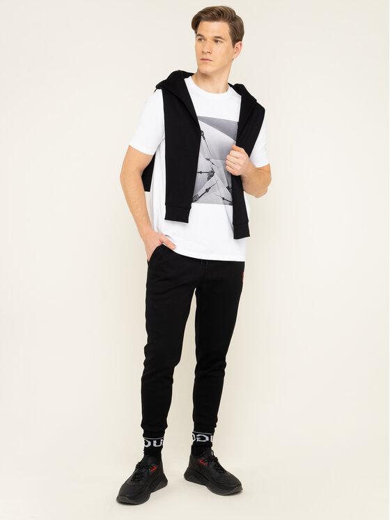 Hugo Hugo T-shirt Doste 50421743 Blanc Regular Fit