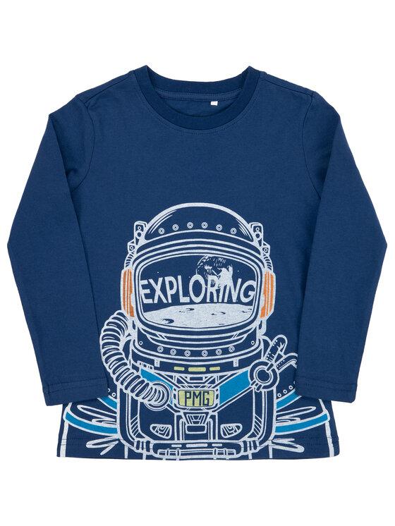 Primigi Primigi Bluzka Space Mission 44212011 Granatowy Regular Fit