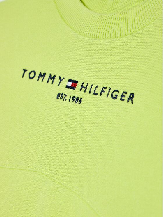Tommy Hilfiger Tommy Hilfiger Bluza Essential KG0KG05764 M Zielony Regular Fit