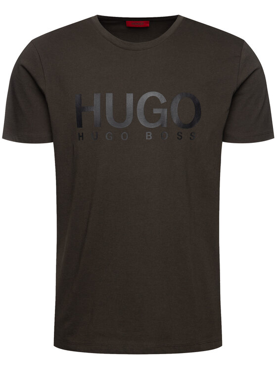 Hugo Hugo T-Shirt 50387414 Πράσινο Relaxed Fit