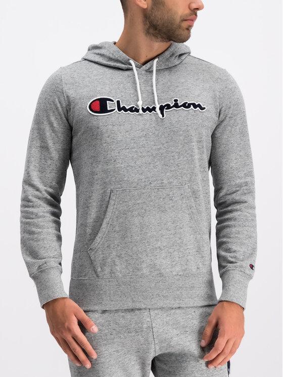 Champion Champion Bluza 212940 Szary Comfort Fit