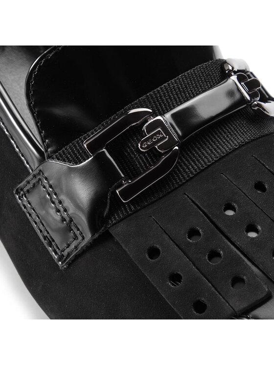 Geox Geox Κλειστά παπούτσια D Seylise M. H D84BBH 03832 C9999 Μαύρο