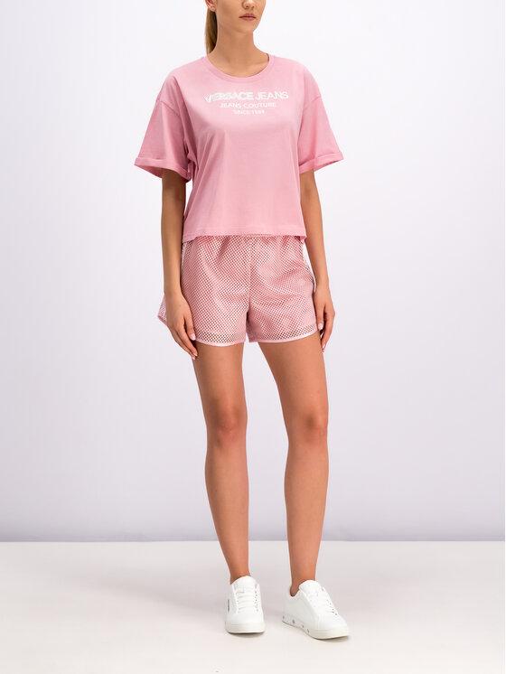 Versace Jeans Versace Jeans Sport rövidnadrág A3HTB177 Rózsaszín Regular Fit