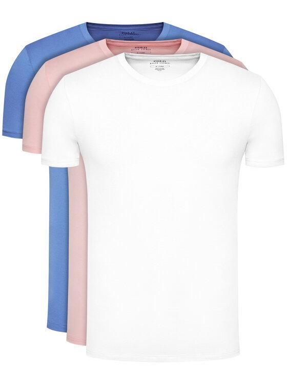 Polo Ralph Lauren 3 marškinėlių komplektas Classic Crew 714830304001 Spalvota Regular Fit