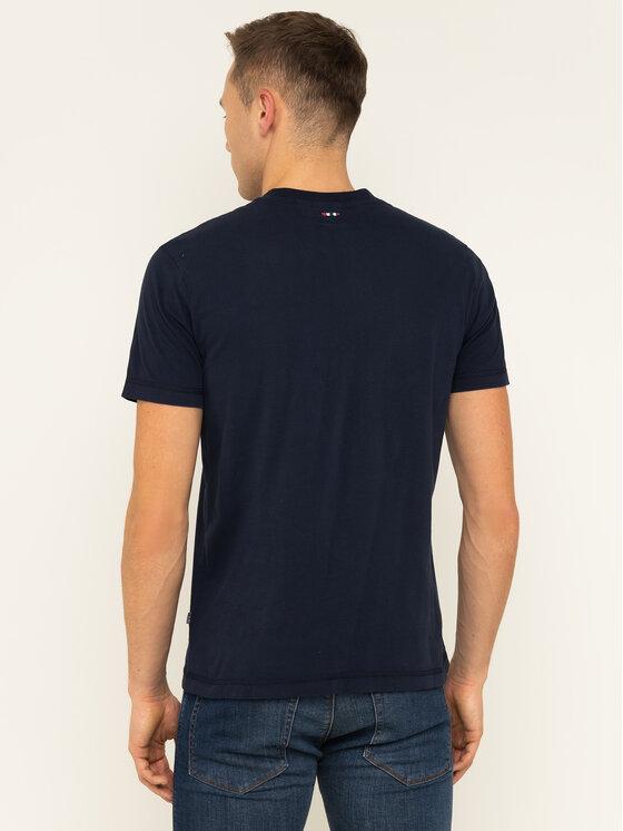 Napapijri Napapijri T-shirt Sibu N0YIX2 Blu scuro Regular Fit