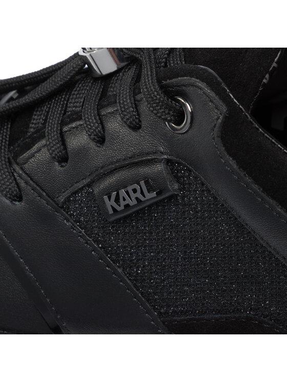 KARL LAGERFELD KARL LAGERFELD Laisvalaikio batai KL61631 Juoda