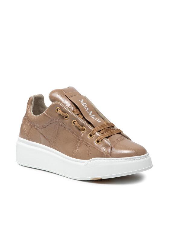 Max Mara Laisvalaikio batai Maxic 47660717600 Smėlio