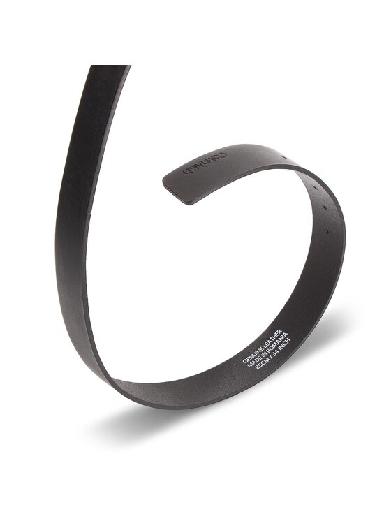 Calvin Klein Calvin Klein Herrengürtel 3.5Cm New Essential K50K504149 85 Schwarz