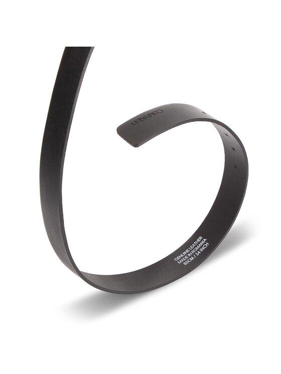 Calvin Klein Calvin Klein Pasek Męski 3.5Cm New Essential K50K504149 85 Czarny