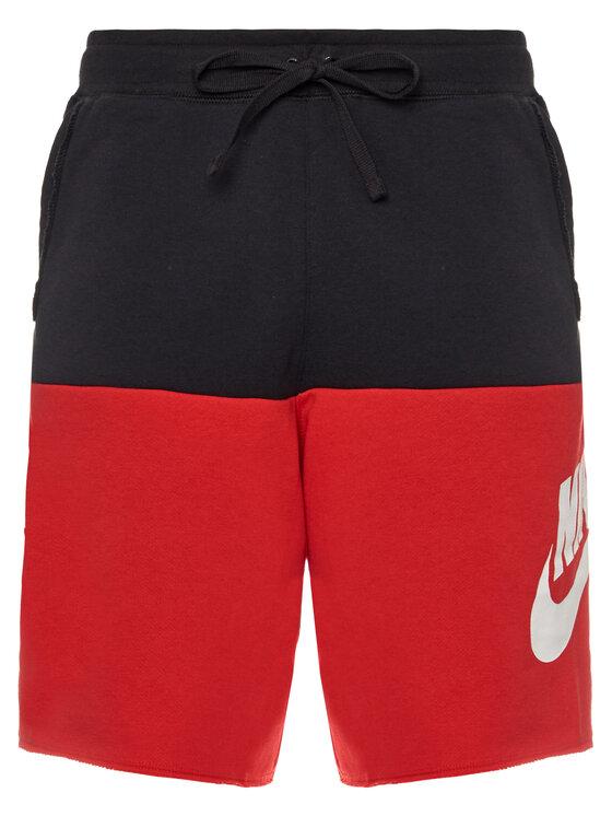 Nike Nike Szorty sportowe Sportswear Alumni CJ4352 Czarny Loose Fit