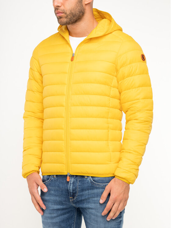 Save The Duck Save The Duck Übergangsjacke D3065M GIGA9 Gelb Slim Fit
