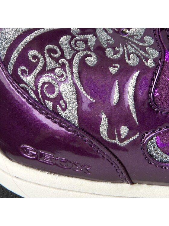 Geox Geox Sneakersy J Creamy A J54L5A 0DHKN C8000 D Fioletowy