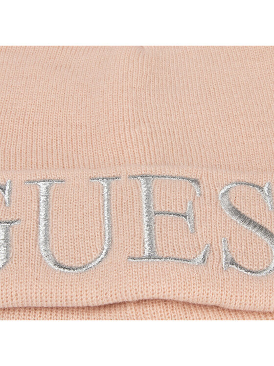 Guess Guess Σκούφος Not Coordina Ted Hats AW7871 WOL01 Ροζ