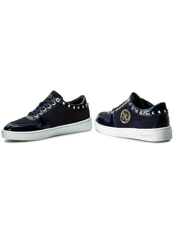 Guess Guess Sneakersy Giamal FLGIA3 SUE12 Tmavomodrá
