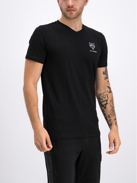 Plein Sport Plein Sport T-Shirt F19C MTK3803 SJY001N Μαύρο Regular Fit
