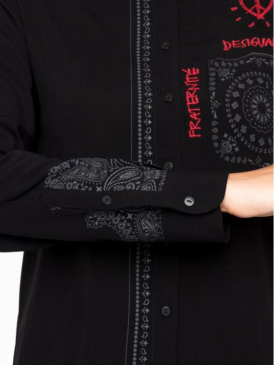 Desigual Desigual Košile 19WWCW09 Černá Regular Fit