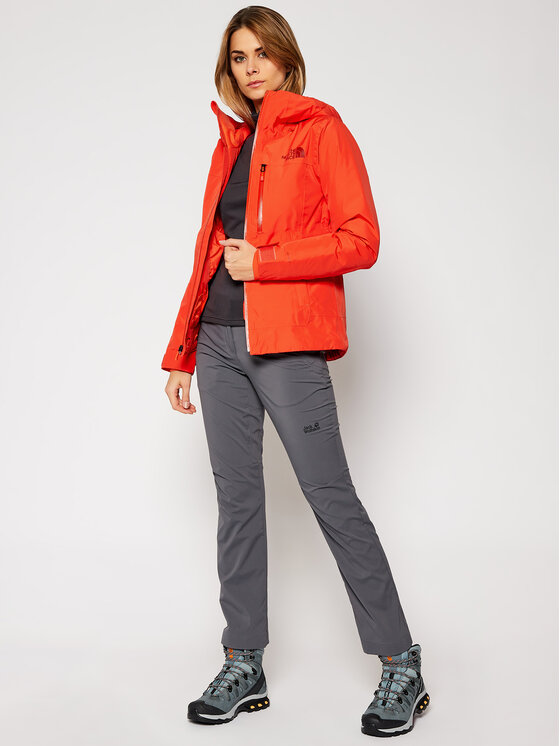 The North Face The North Face Kurtka narciarska Descendit NF0A4R1RR151 Czerwony Slim Fit