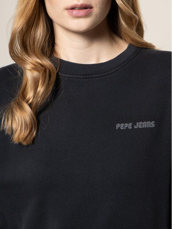 Pepe Jeans Pepe Jeans Mikina Beatriz PL580909 Černá Regular Fit