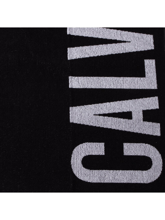 Calvin Klein Swimwear Calvin Klein Swimwear Ręcznik Towel KU0KU00062BEH Czarny