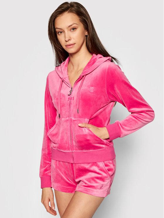 Juicy Couture Džemperis Robertson JCAP176 Rožinė Slim Fit