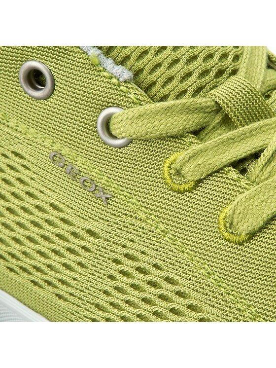 Geox Geox Sneakers aus Stoff U Smart B U72X2B 01422 C3015 Grün
