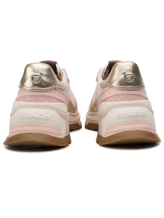 Coach Coach Sneakersy C143 Smth Mtl G4125 231756 Złoty