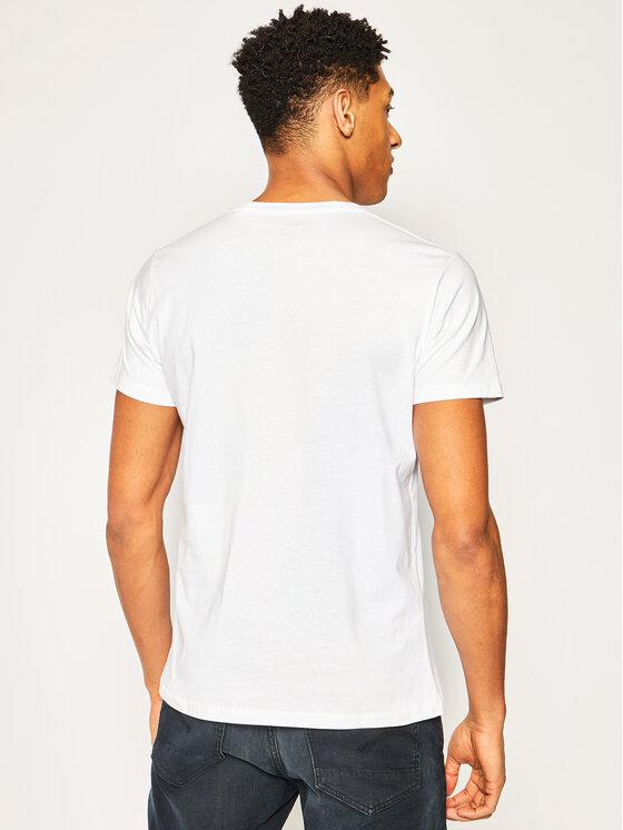 Pepe Jeans Pepe Jeans T-Shirt PM505671 Λευκό Regular Fit