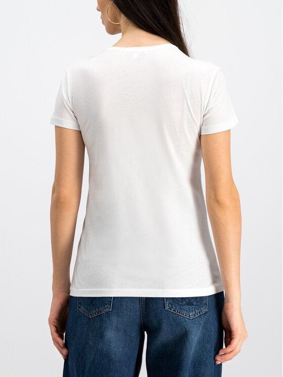 Patrizia Pepe Patrizia Pepe T-Shirt 8M0796/A4S2-J2EU Λευκό Regular Fit