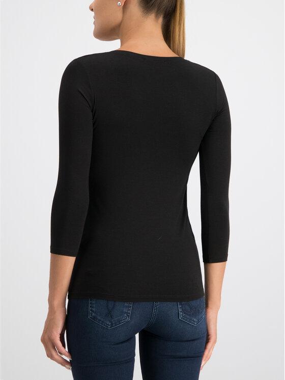 Patrizia Pepe Patrizia Pepe Блуза CM2668/A13T-K103 Черен Slim Fit