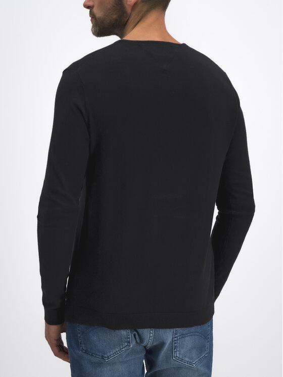 Tommy Jeans Tommy Jeans Sveter DM0DM04402 Čierna Regular Fit