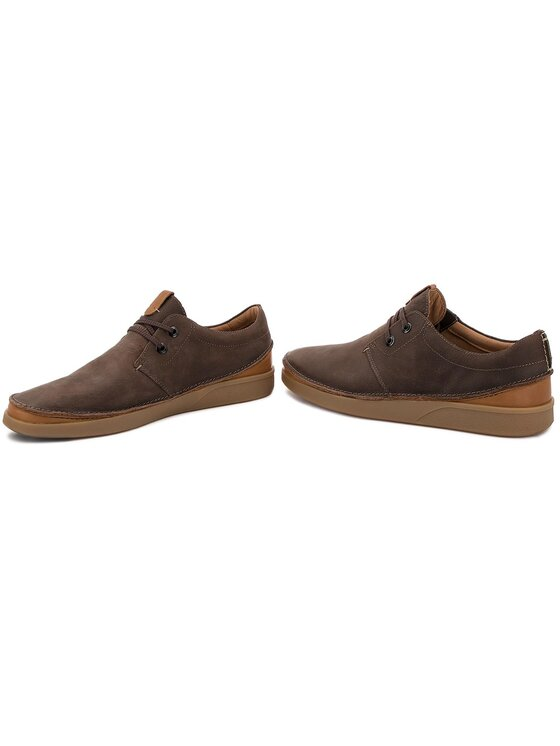 Clarks Clarks Pantofi Oakland Lace 261353937 Maro