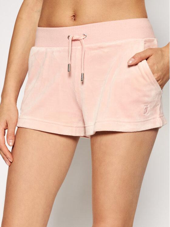 Juicy Couture Sportiniai šortai Eve JCCH121001 Rožinė Slim Fit