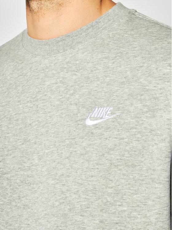Nike Nike Bluza Nsw Club Crv BV2666 Szary Standard Fit
