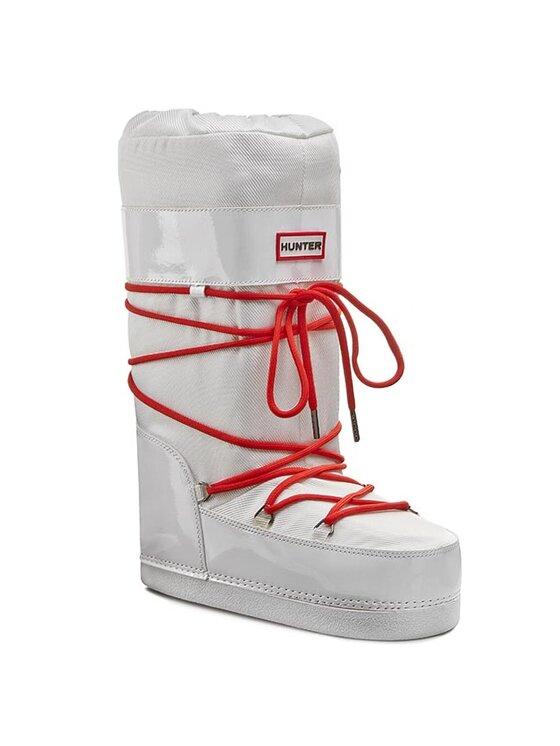 Hunter Hunter Μπότες Χιονιού Chatel Gloss W24346 Λευκό
