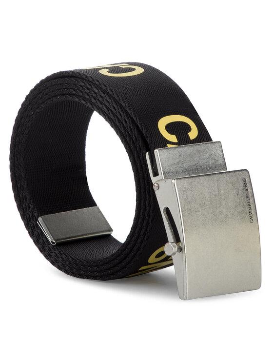 Calvin Klein Jeans Calvin Klein Jeans Cintura da uomo J 4Cm Military Belt K50K504685 Nero