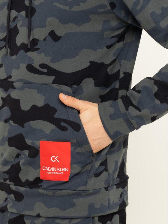 Calvin Klein Performance Calvin Klein Performance Μπλούζα 00GMH9W362 Γκρι Regular Fit