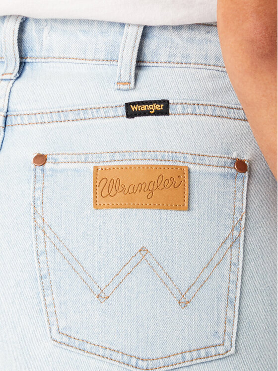 Wrangler Wrangler Τζιν The Retro W22AJHXA3 Μπλε Regular Fit