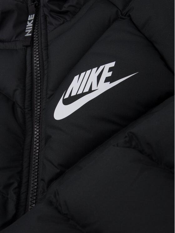 Nike Nike Пухено яке 939557 Черен Regular Fit
