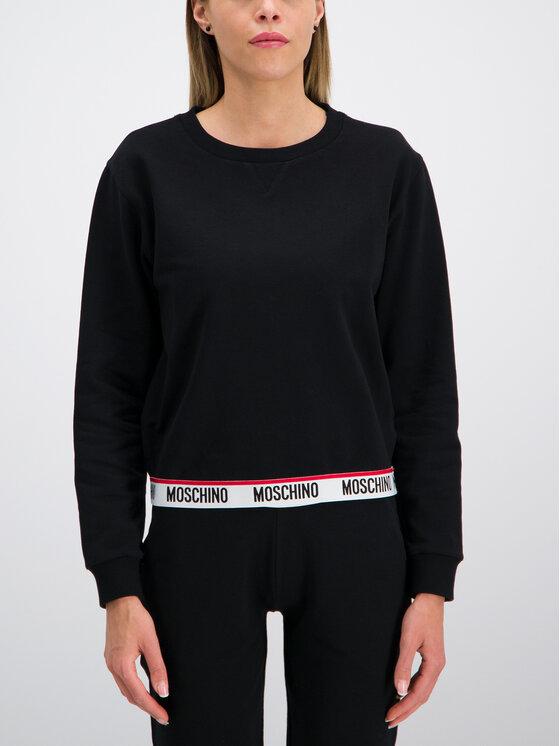 MOSCHINO Underwear & Swim Džemperis A1704 9027 Juoda Regular Fit