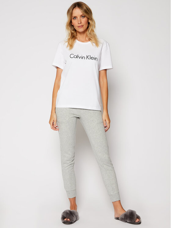 Calvin Klein Underwear Calvin Klein Underwear T-Shirt 000QS6105E Bílá Regular Fit