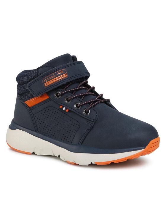 Sprandi Auliniai batai CP07-91335-01(IV)CH Tamsiai mėlyna