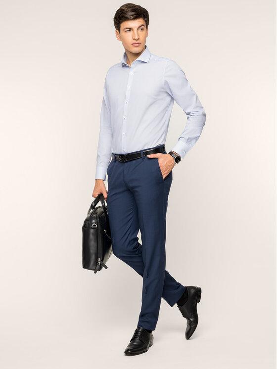 Digel Marškiniai 1297003 Mėlyna Slim Fit