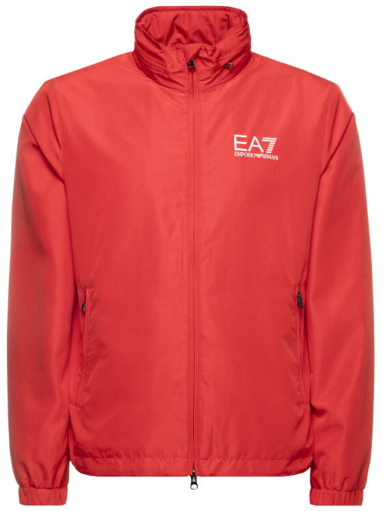 EA7 Emporio Armani EA7 Emporio Armani Bunda pro přechodné období 3HPB03 PN28Z 1451 Červená Regular Fit