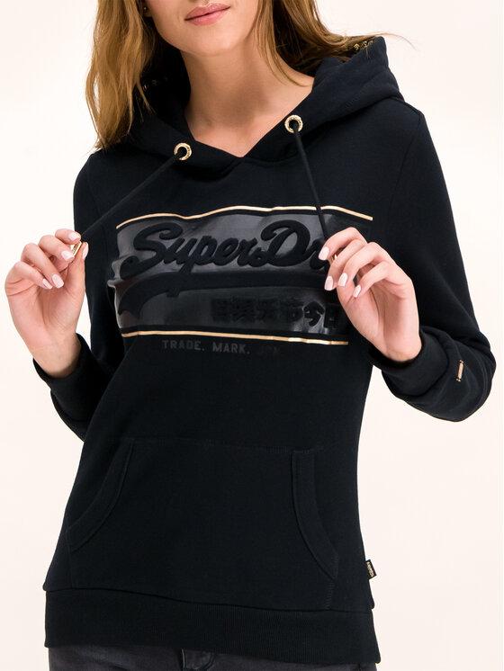 Superdry Superdry Felpa Logo Block Emboss Entry W2000052A Nero Regular Fit