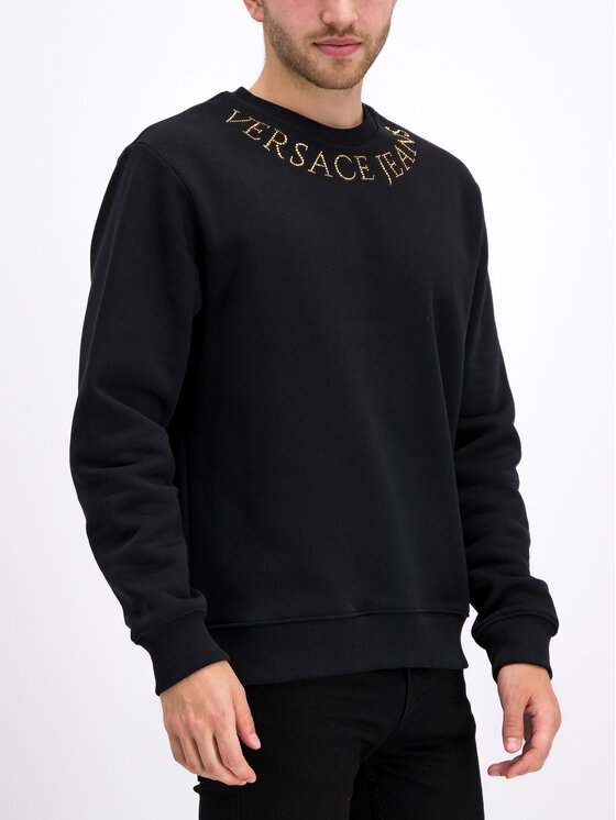 Versace Jeans Couture Versace Jeans Couture Sweatshirt B7GUA710 Noir Regular Fit